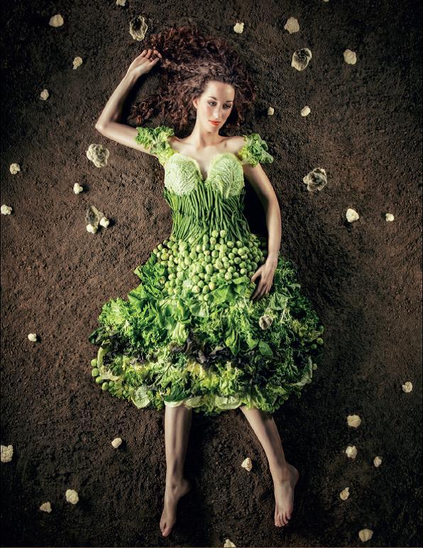la robe verte